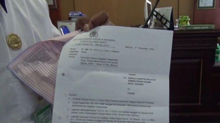 Pengajian Menyimpang di Mamuju, Bayar Rp 700 Ribu Melihat Tuhan Lewat Cahaya