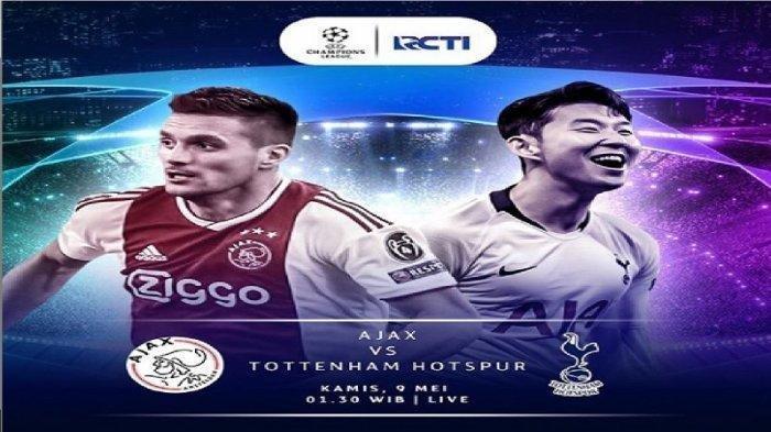 Skor 2-2 Sementara, Ini Cuplikan Gol & Hasil Ajax vs Tottenham di Semifinal Liga Champions