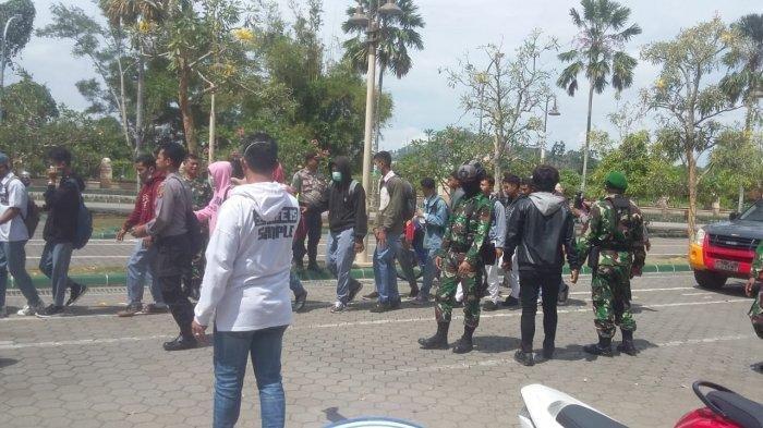 Aksi Kaltim Bersatu di Samarinda, 24 Pelajar Diamankan TNI dan Polisi