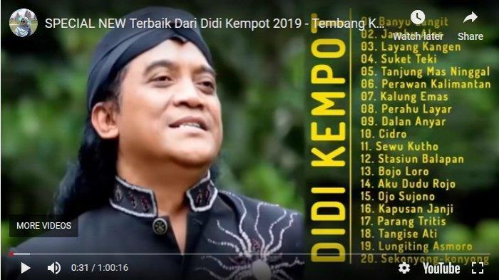 Sosok Didi Kempot di Mata Guru Ngaji Presiden Jokowi, Gus Karim Ungkap Ini