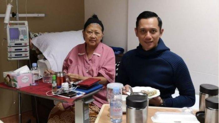 Ani Yudhoyono Dirawat di Ruang ICU, AHY Jelaskan Kondisi Terbaru Kesehatan Istri SBY