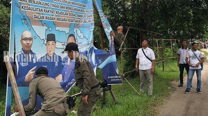KPU Kalteng Tambah 54 TPS Baru, H-2 Alat Peraga Kampanye Banyak Belum Dicopot