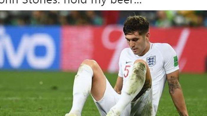 Inggris Gagal ke Final UEFA Nations League, Ini 10 Meme Kocak Hina John Stones dan Kyle Walker