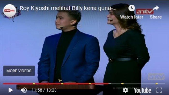 Roy Kisyoshi Bongkar Fakta di Balik Kandasnya Hubungan Billy Syahputra dan Hilda Vitria