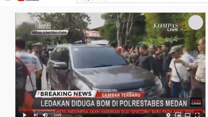 Melawan Saat Dicegah Masuk, Terduga Pelaku Bom Bunuh Diri Terobos Polrestabes Medan