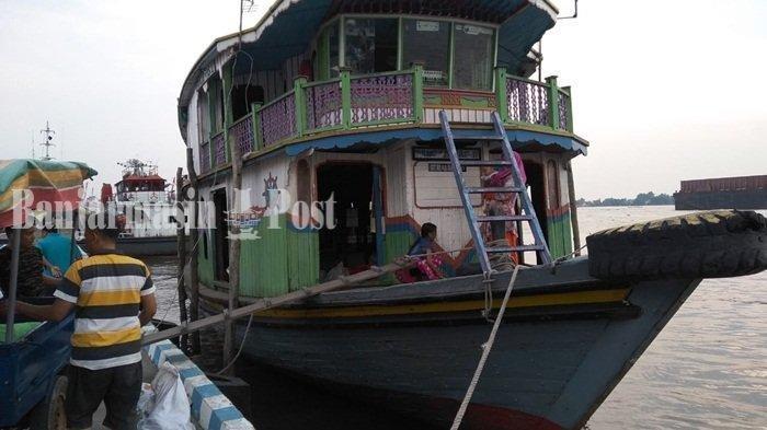 Pernah Jaya di Era 70-an, Begini Nasib Bus Air di Pelabuhan Banjar Raya Banjarmasin