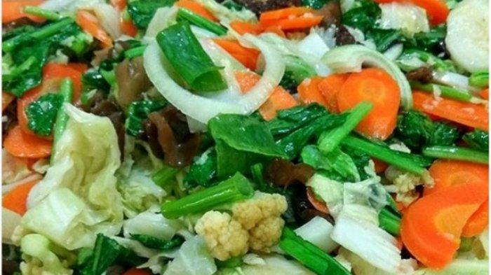 Praktis! Ini 4 Resep Sayur Sederhana Untuk Sahur Ramadhan, Capcay Sayur Asem & Sop Bikin Segar