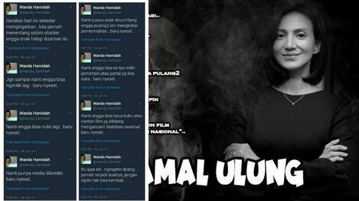 Trending Twitter #WandaHamidahPeramalUlung, Cuitan 'Nanti punya anak terus hilang' Populer