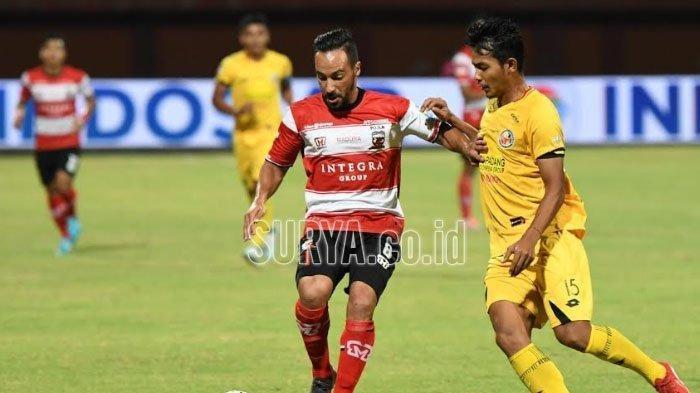 Kalteng Putra vs Madura United, Laskar Sape Kerrab Turunkan Diedo Assis