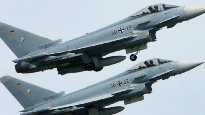 Dua Jet Tempur Jerman Bertabrakan di Udara Saat Jalankan Misi