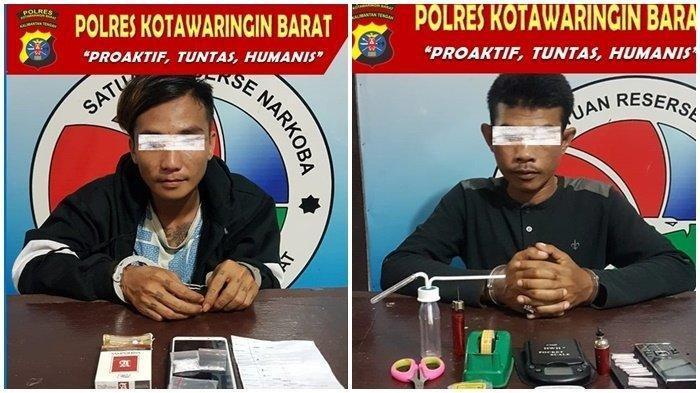 Dua Warga Kotawaringin Barat Kalteng Diamankan Polis Bersama Paketan Sabu Siap Edar