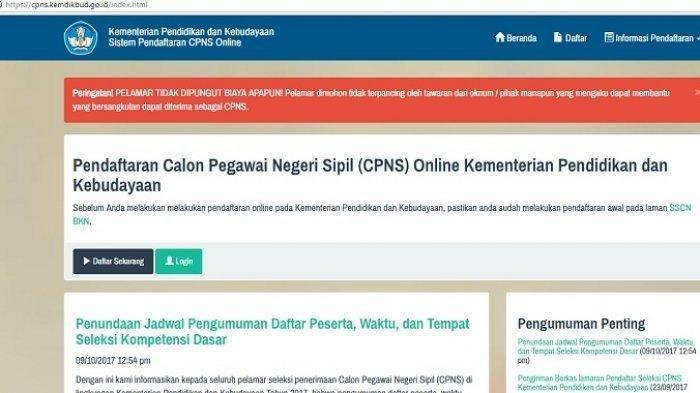 Tulis Tangan & Ketik, Ini Format Surat Lamaran & Pernyataan CPNS Kemendikbud 2019