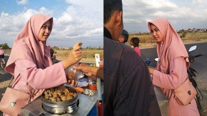 Viral Gadis Cantik Penjual Cilok, Terungkap Kisah Ini di Baliknya