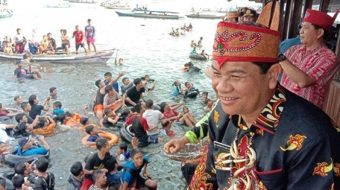Aneh Tak Ada Gangguan Buaya, Mandi Safar di Sungai Mentaya Jadi Kalender Wisata Tahunan Kalteng
