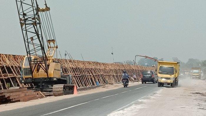 Pembangunan Jalan Layang Bukit Rawi Ditarget Rampung 2021, Bakal Tak Lagi Terendam