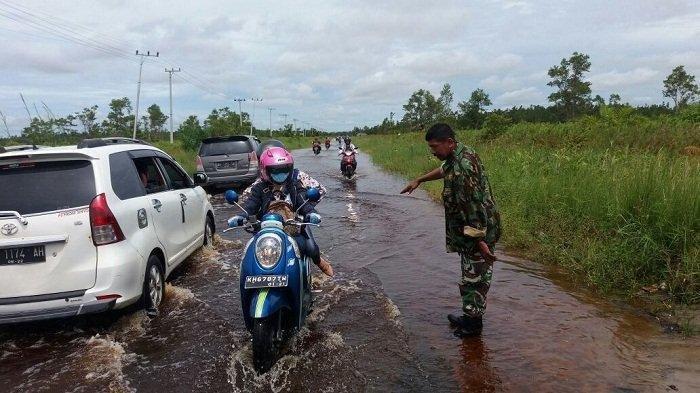 Jalur Puruk Cahu - Kualakurun Rawan Kecelakaan, Licin Saat Hujan