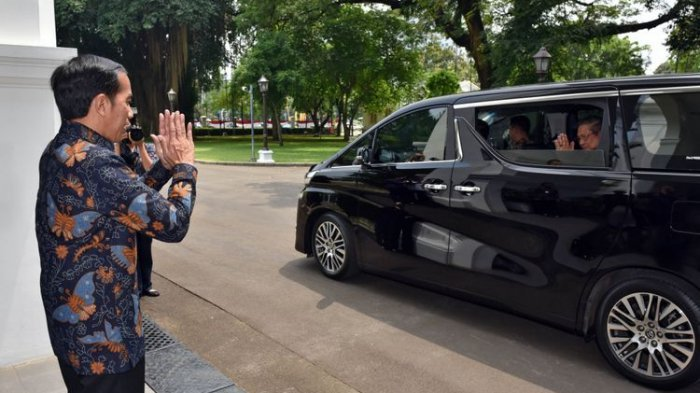 Mendadak SBY Temui Presiden Jokowi di Istana Usai Ancaman Keluarkan Petisi, Membahas Apa?