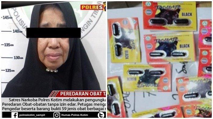 Polres Kotim Kembali Bongkar Penjualan Obat Tanpa Izin Edar, IRT Diamankan