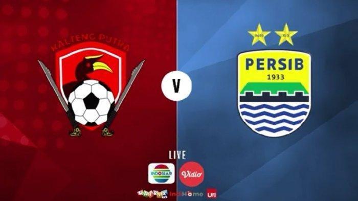 Sedang Berlangsung Kalteng Putra vs Persib Bandung, Bisa Tonton Lewat Hape di Sini