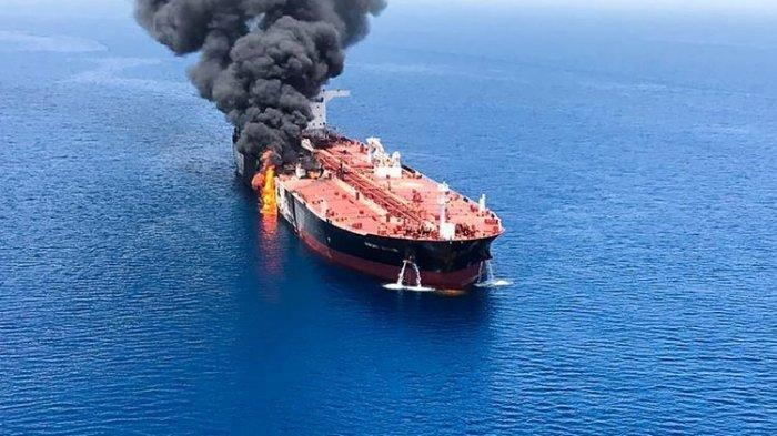 Serangan Kapal Tanker di Teluk Oman, Parlemen Iran Balas Tuding AS Dalang untuk Tekan Iran