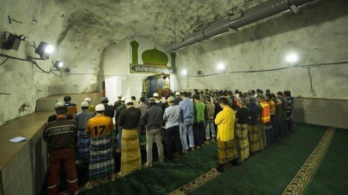 Berada di Kedalaman 1.700 Meter Bawah Tanah, Ini Keunikan Masjid Baabul Munawwar di Timika Papua