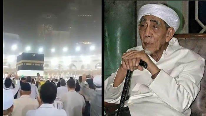 KH Maimoen Zubair Wafat, Kabah Diguyur Hujan dan Mekkah Diselimuti Kabut