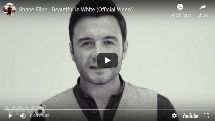 Download Lagu Mp3 Shane Filan Beautiful In White Lirik Lagu Dan Video Dalam Lagu Wedding 2019 Halaman All Tribun Kalteng