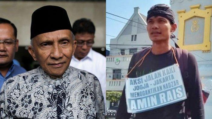 Politisi PAN Bantah Amien Rais Pernah Bernazar Jalan Kaki Yogya-Jakarta, Ini Catatannya