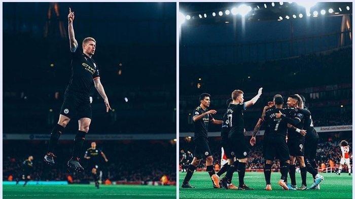 Arsenal Kalah di Kandang Sendiri, Man City Langsung Gebrak Gol Tercepat di Menit ke-2