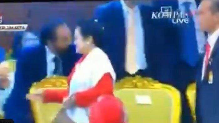 Video Megawati Tolak Salaman dengan AHY dan Surya Paloh, Alihkan Muka dan Langsung Ngeloyor