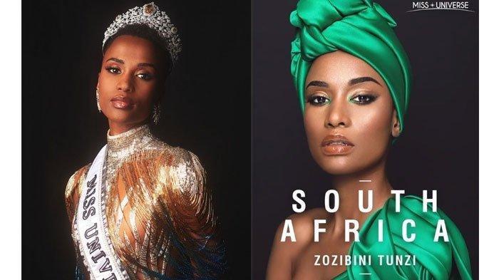 Zozibini Tunzi dari Afrika Selatan Jadi Miss Universe 2019, Wakil Indonesia Masuk 10 Besar