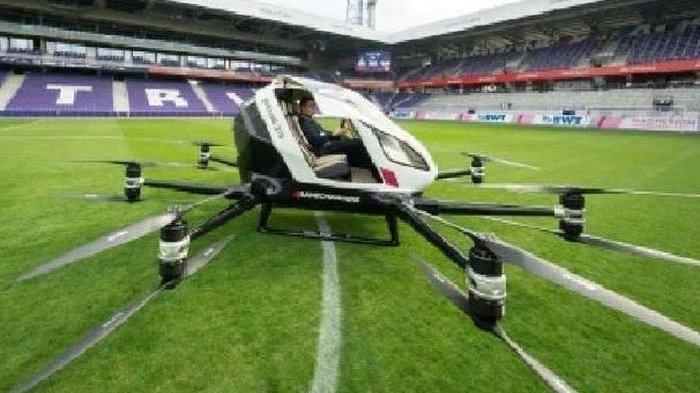 Mirip Drone dan Bisa Dikendalikan Tanpa Sopir, Ini Taksi Terbang Pertama di Dunia