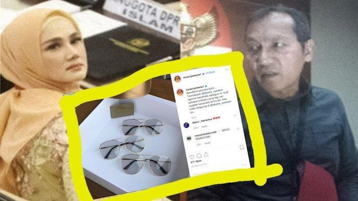 Mulan Jameela Posting Kacamata Gucci, Wakil Ketua KPK Bereaksi, Istri Ahmad Dhani: Terima Kasih