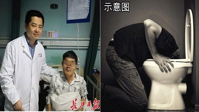 Mabuk, Pria Ini Muntahkan Tumor dari Tenggorokannya, Tapi Ditelan Lagi karena Mengira Organ Dalam