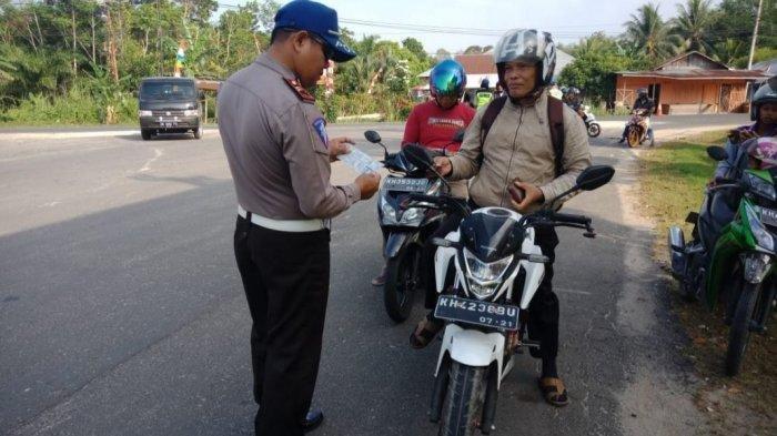 86 Pengendara Terjaring Operasi Patuh Telabang di Pulang Pisau, Termasuk Angkutan Umum dan Mobil