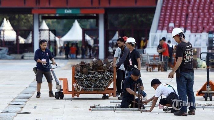 Konser Putih Bersatu Jokowi-Amin, 500 Artis Akan Berkolaborasi di GBK