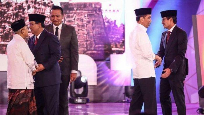 Hasil Pleno KPU Sisa 2 Provinsi, Jokowi-Maruf Unggul 20 Provinsi, Prabowo-Sandi 12 Provinsi