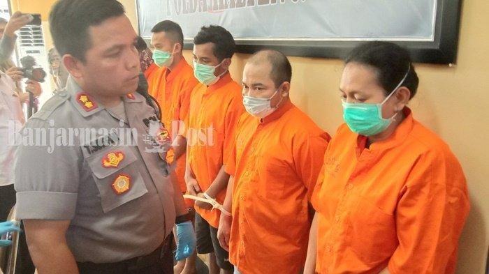 Pesanan Sabu Dilempar ke Dalam Lapas, Polresta Palangka Amankan 10 Tersangka