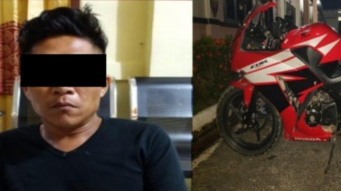 Warga Palangkaraya Curi Sepeda Motor Keluarga di Pulpis, Ditangkap Polisi di Kapuas