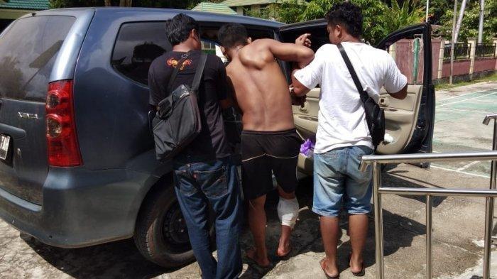 Curi Motor di di Pulangpisau, Tak Sampai 24 Jam Totong Dibekuk di Gunung Mas