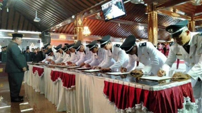 Curiga dengan Kepala Desa, Belasan Ketua RT dan RW Duwet Sukoharjo Mundur Massal