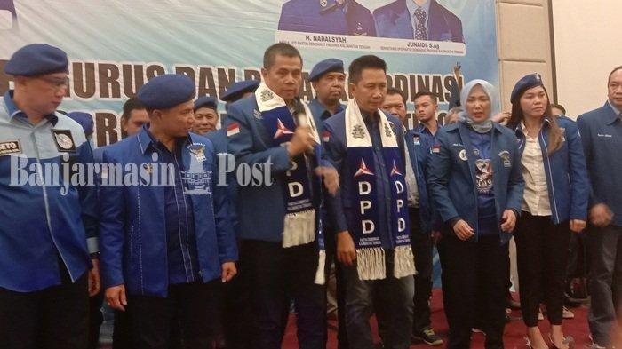 Pengurus DPD Partai Demokrat Akhirnya Dilantik, Siapkan Kader Terbaik Maju di Pilgub Kalteng 2020
