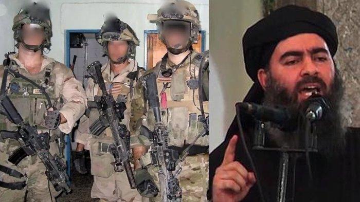 Amerika Rilis Foto Penyerbuan Abu Bakar al-Baghdadi, Pemimpin ISIS Ledakkan Diri