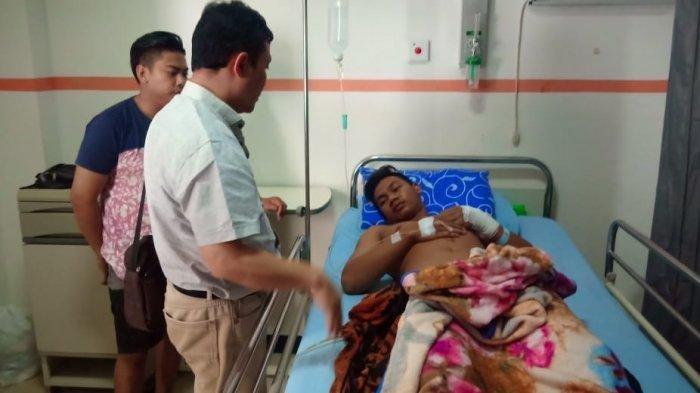 Pemuda Mabuk Mengamuk, Anggota Polisi Menegur Malah Diserang Pakai Gunting