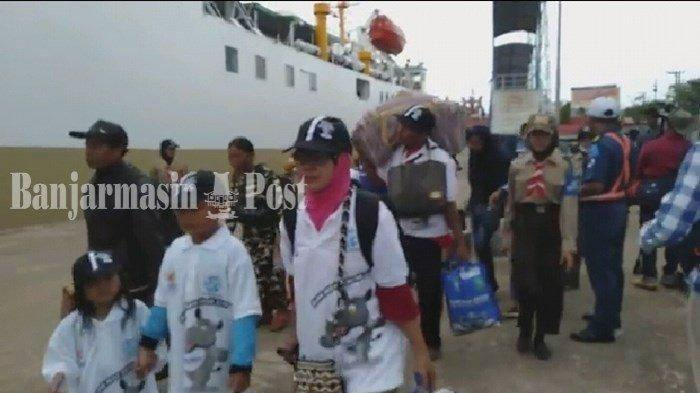 Kebanyakan Mahasiswa Daerah yang Kuliah di Yogya, Jalur Kapal Laut Jadi Pilihan Warga Sampit