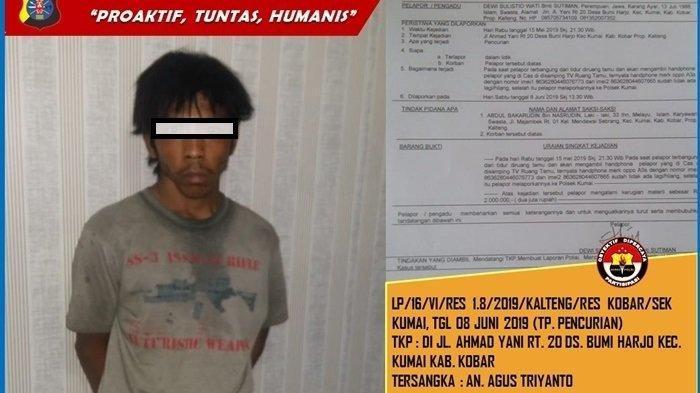 Marak Pencurian Ponsel di Palangkaraya, Beraksi Saat Korban Lagi Begini, Pelaku Gunakan Perekat
