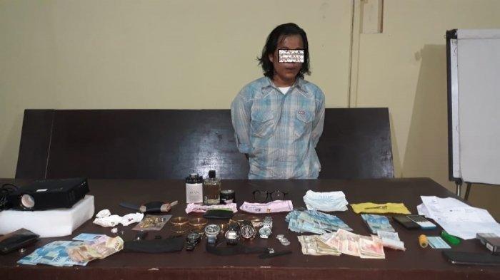 Warga Tulungagung Ditangkap di Pelabuhan Trisakti, Diduga Curi Senpi Anggota Polres Barito Utara