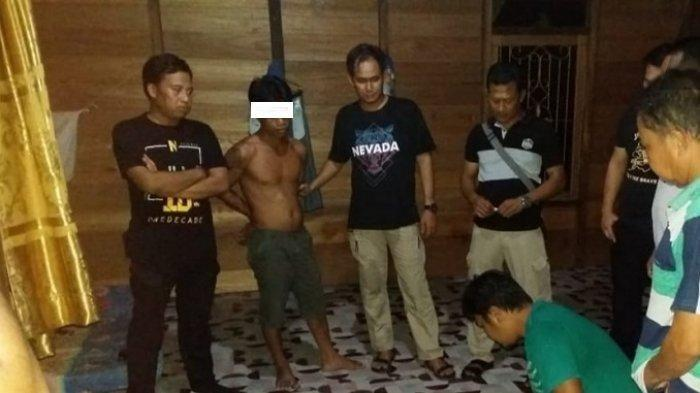 Rumah Jadi Tempat Transaksi Narkoba, Pengedar Sabu Pulau Malan Katingan Ditangkap
