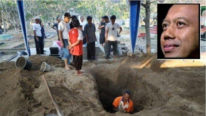 Jelang Pemakaman Sutopo BNPB, Penggali Makam Sutopo Purwo Nugroho Alami Kejadian Aneh Ini