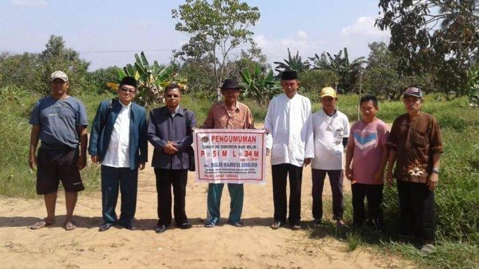 Kendala Program Sertifikat Tanah Wakaf di Kapuas, Tak Semua Wilayah Ada Jaringan Internet